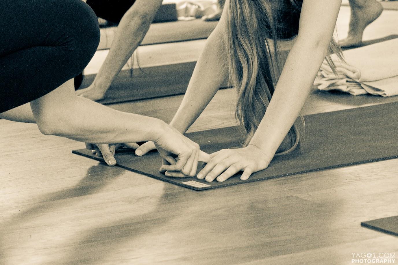 Hands adjustment